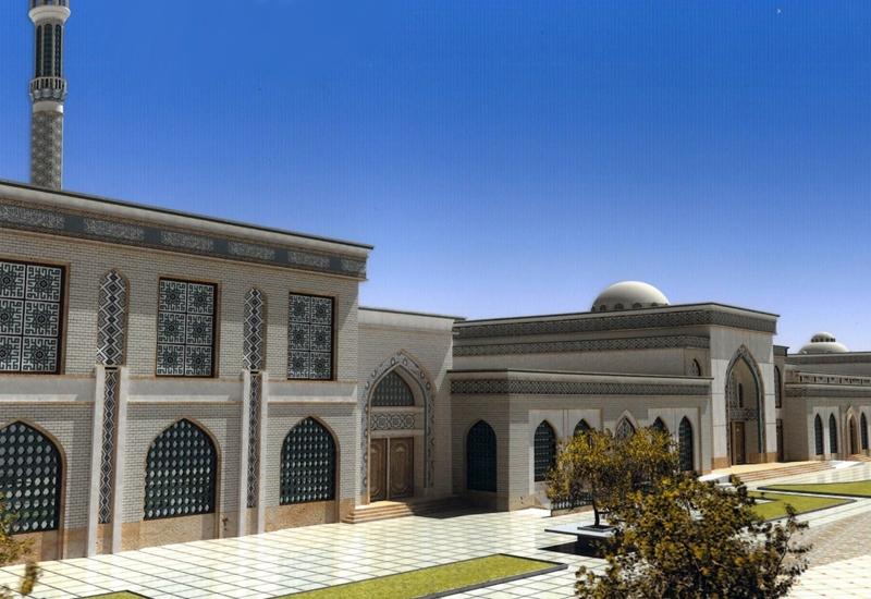 مصلی بقیة الله الاعظم (عج) کاشان - نمای تکمیل شده