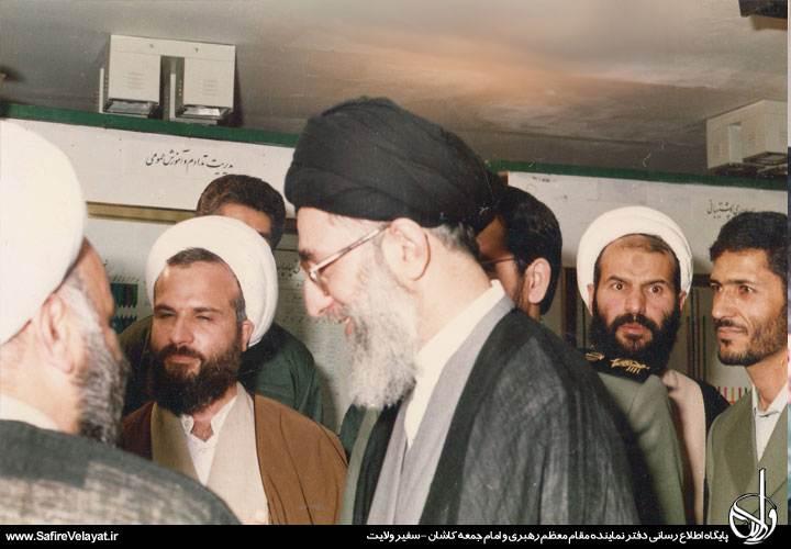 دیدار های آیت الله نمازی با رهبر انقلاب حضرت آیت الله العظمی خامنه ای