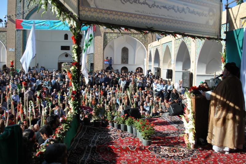 مراسم سنتی مذهبی قالیشیویان مشهد اردهال کاشان