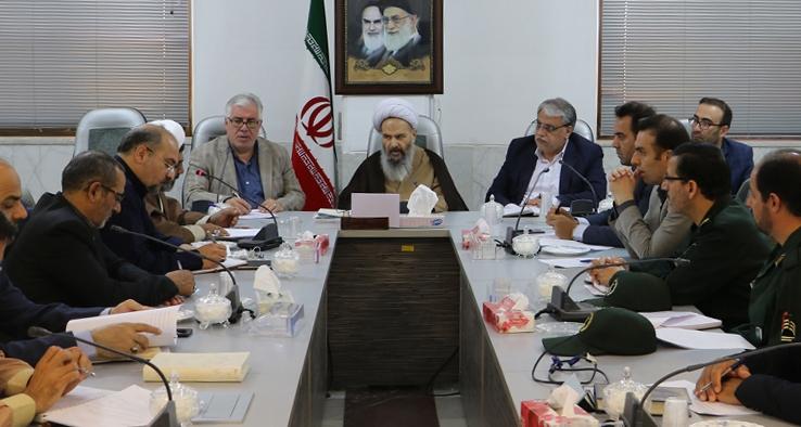 اولین جلسه شورای ترویج فرهنگ ایثار و شهادت در شهرستان کاشان با حضور نماینده مقام معظم رهبری