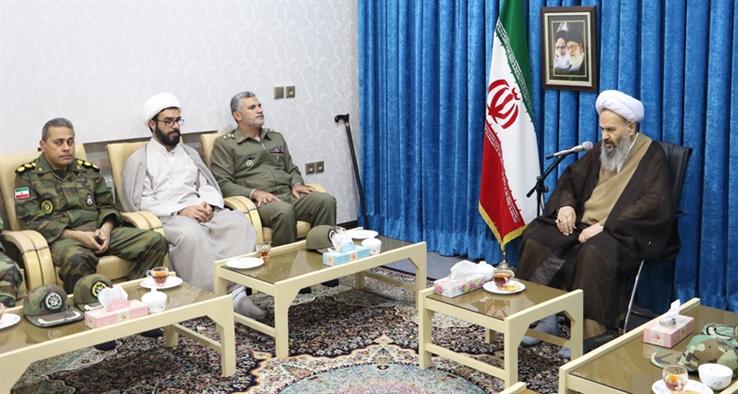 فلسفه وجودی سپاه مقابله با دشمن و حفظ انقلاب اسلامی است