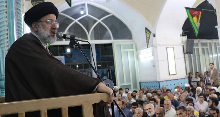 مراسم بيست و ششمين سالگرد ارتحال آيت الله حاج رضا مدنی کاشانی