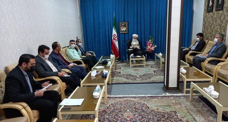 جلسه بررسی وضعیت آرامستانهای سطح شهر کاشان