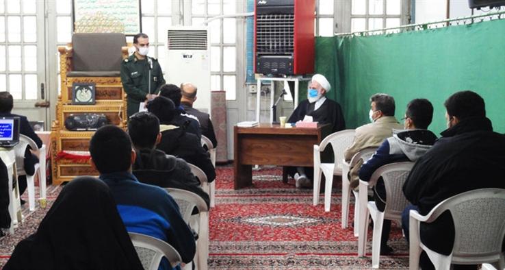 دیدار سرگروههای جهادی شهرستان کاشان با نماینده مقام معظم رهبری در منطقه حضرت آیت الله سلیمانی