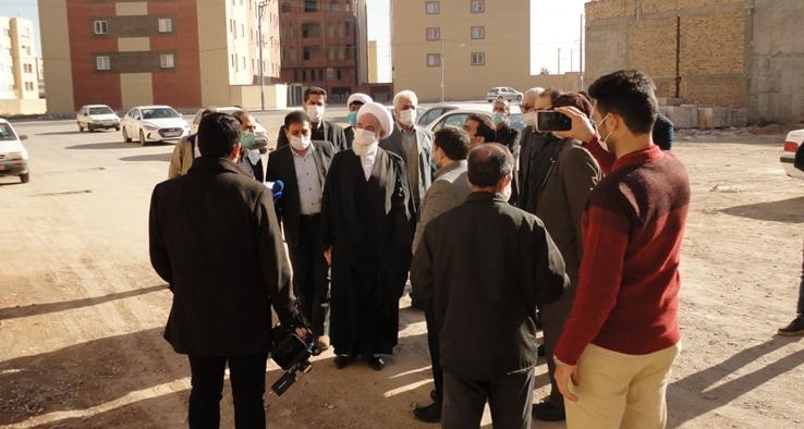 بهرهبرداری از ۱۴ واحد مسکونی انجمن خیرین مسکن ساز کاشان با حضور آیت الله سلیمانی
