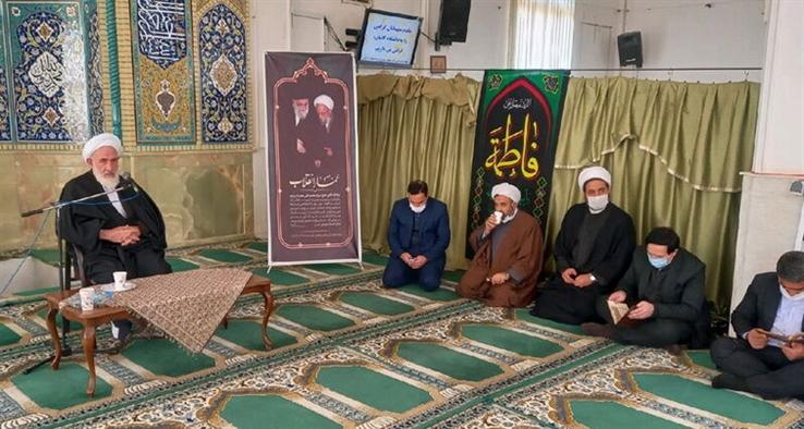 آیین بزرگداشت آیتالله مصباح یزدی در مسجد دانشگاه کاشان