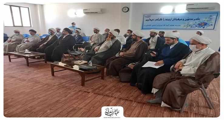 بازدید از حوزه علمیه ابوتراب امام کاشانی