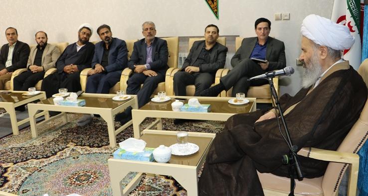 دیدار هیئت رئیسه دانشگاه كاشان با نماینده ولی فقیه و امام جمعه کاشان