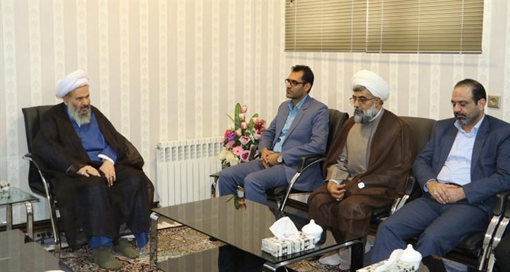 دیدار رییس و اعضای هیأت علمی دانشگاه آزاد اسلامی كاشان