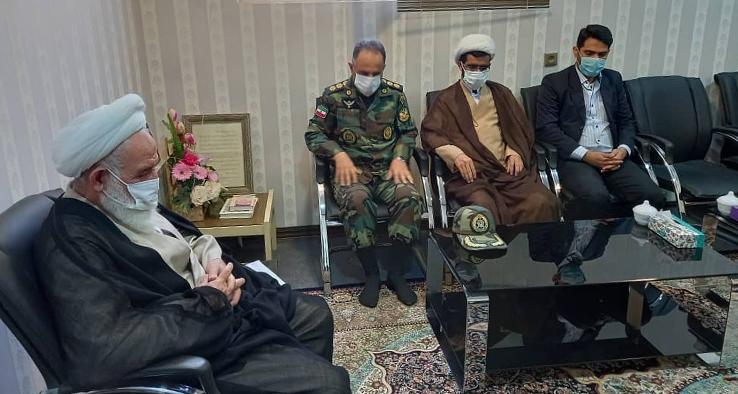 دیدار با جمعی از فرماندهان و کارکنان گروه ۸۴۰ موشکی شهید کبریایی نیروی زمینی ارتش