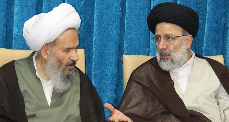 دیدار با حجت الاسلام والمسلمين سيد ابراهيم رئيسی تولیت محترم آستان قدس رضوی (ع)
