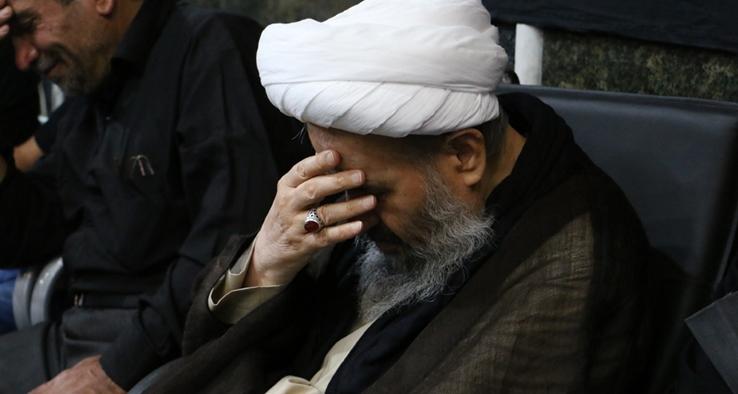 مراسم عزاداری تاسوعای حسینی در مسجد صادقیه کاشان