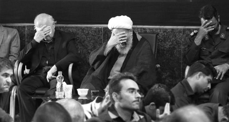 مراسم عزاداری تاسوعا و عاشورای حسینی در مسجد صادقیه کاشان