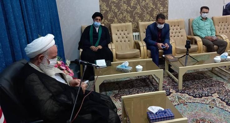 دیدار رئیس ادار کار و تعاون شهرستان کاشان